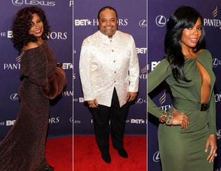 Chaka Khan; Roland Martin; Gabrielle Union (Paul Morigi/Getty Images Entertainment, courtesy of BET Networks)