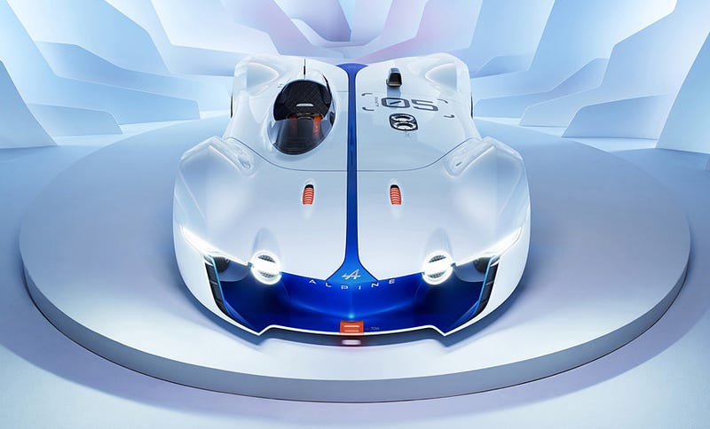 Illustration for article titled Stunning Alpine prototype is the only car I would ever want