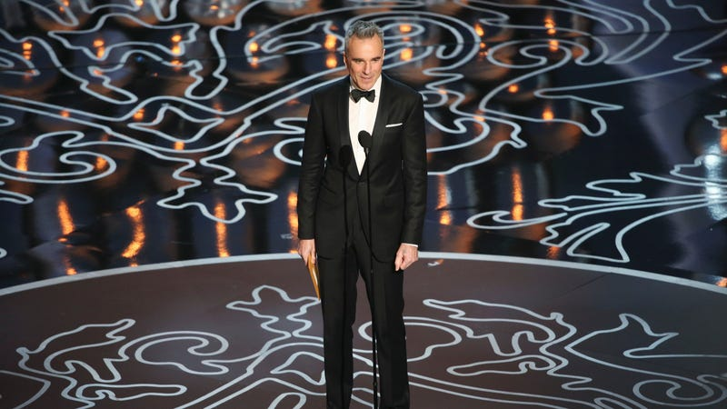 Daniel Day-Lewis, looking Confident And Clothed (Photo: Adam Taylor/Getty Images)