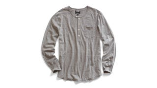 Illustration for article titled Wear This Slick 5-Button Henley For Any Occasion + Save Over 60% ($33)