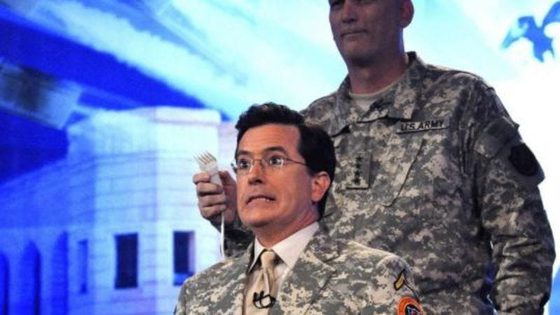 Illustration for article titled The Colbert Disconnect