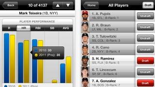 Illustration for article titled Draft Kit 2011 App Makes Fantasy Baseball Real Easy