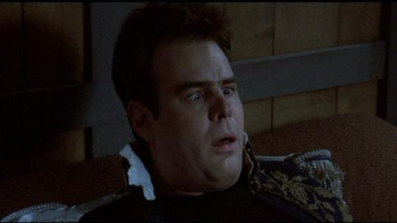 Illustration for article titled Dan Aykroyd determined to make conventional, all-Dan Aykroyd Ghostbusters 3
