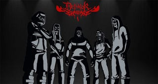 Illustration for article titled Konami To Unveil Metalocalypse Game At Comic-Con