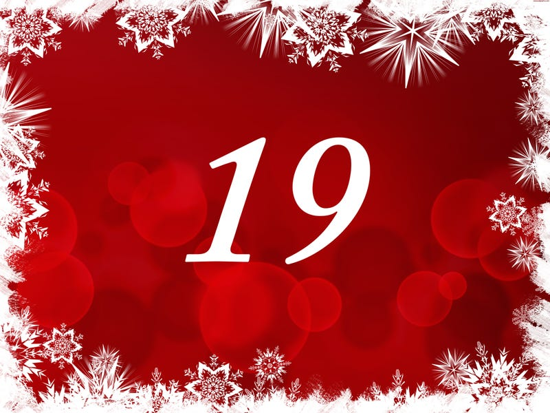 Illustration for article titled The TAY Advent Calendar: Day 19