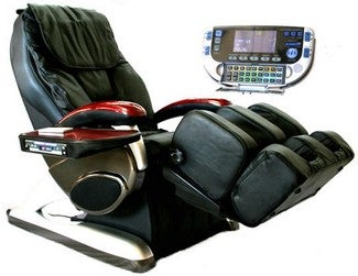 Illustration for article titled DVD Massage Chair Scans Your Body, Synchs With Music