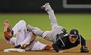 Illustration for article titled NLCS Blogdome: Rockies Clear First Hurdle