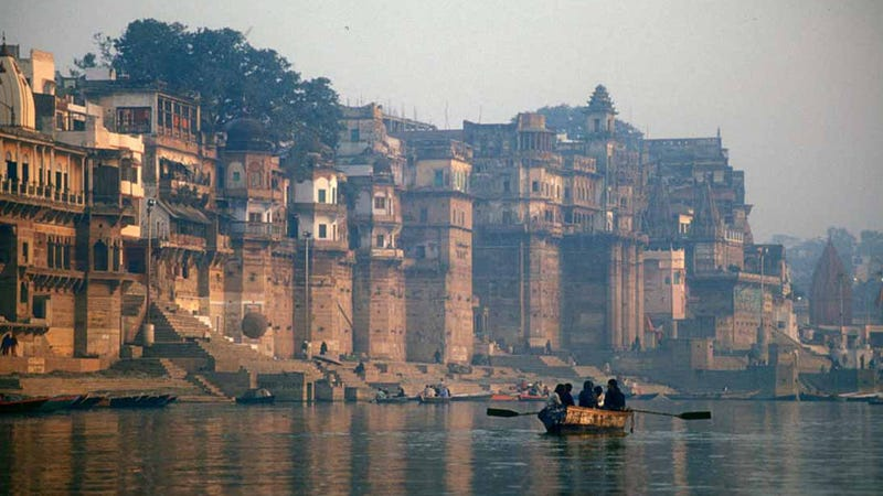 The Ganges River is now a person according to a new Indian law. (Image: Wikimedia)