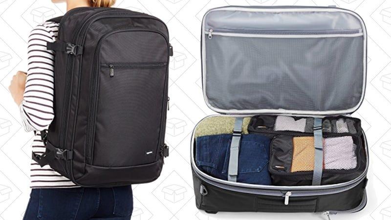 AmazonBasics Carry-On Travel Backpack | $36 | Amazon