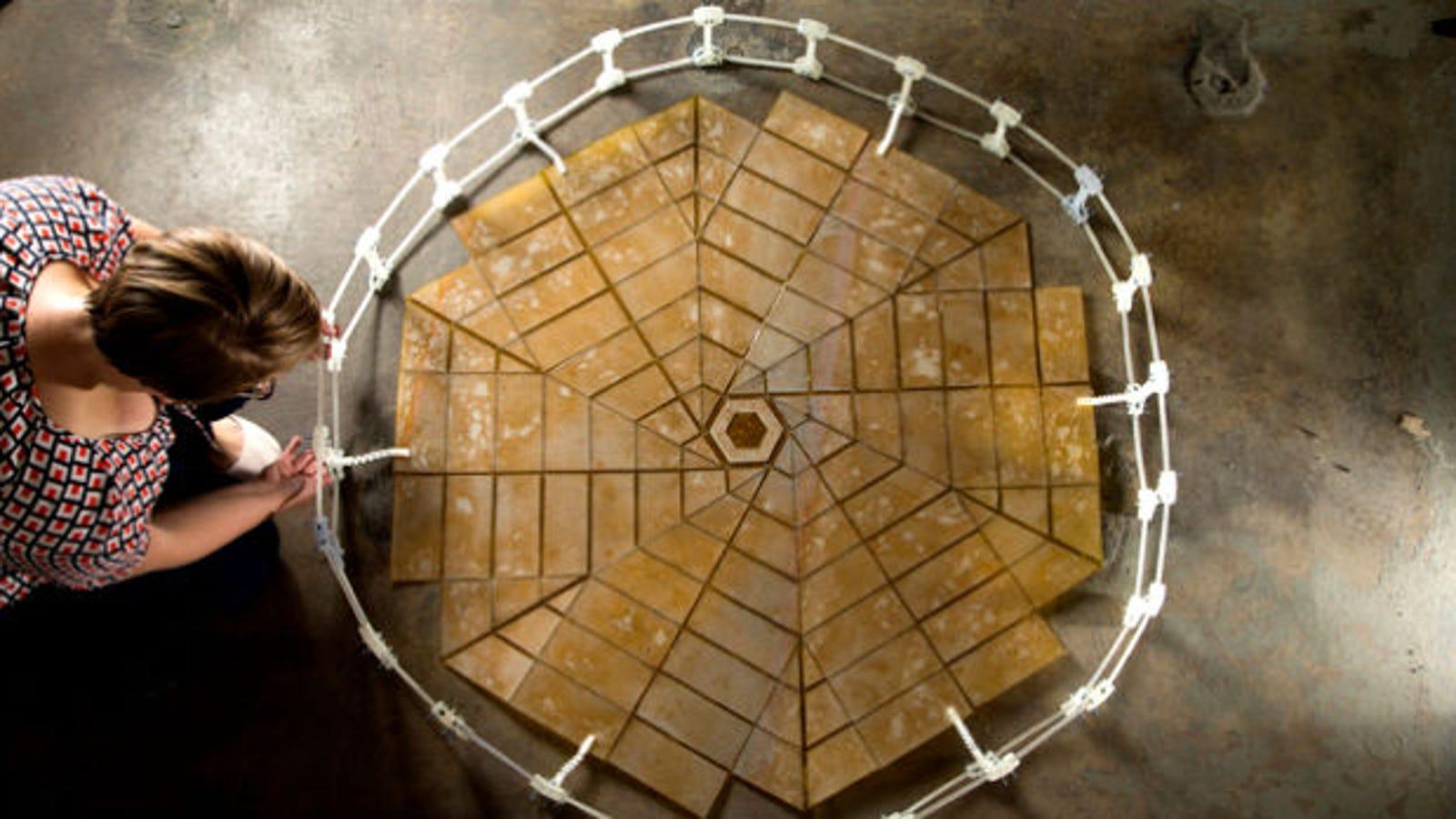 La NASA trabaja en paneles solares inspirados en el origami
