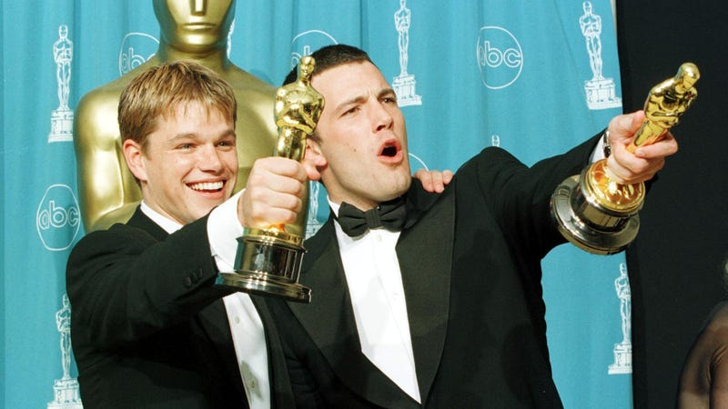 Oscar winners Matt Damon and Ben Affleck