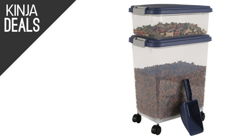 Illustration for article titled Amazon's Top-Selling Pet Food Container is Only $18