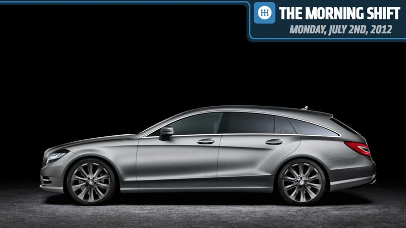 Illustration for article titled Mercedes CLS Shooting Brake, Audi Sunroofs Break And Holden Some Parts Thieves