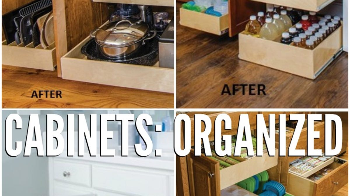 Build A Slide Out Cabinet Drawer In About An Hour