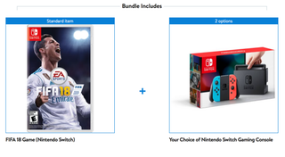 Nintendo Switch + FIFA 18 | $300 | Walmart