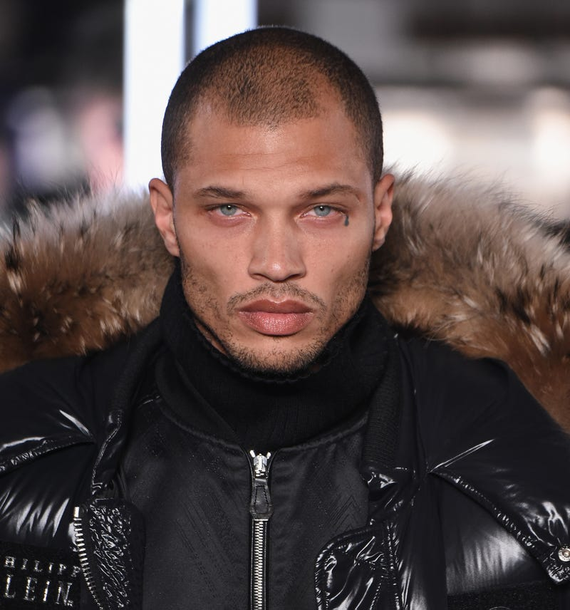 Jeremy Meeks at the Philipp Plein Fall/Winter 2017/2018 Women's and Men's Fashion Show at the New York Public Library on Feb. 13, 2017, in New York City. (Thomas Concordia/Getty Images for Philipp Plein)