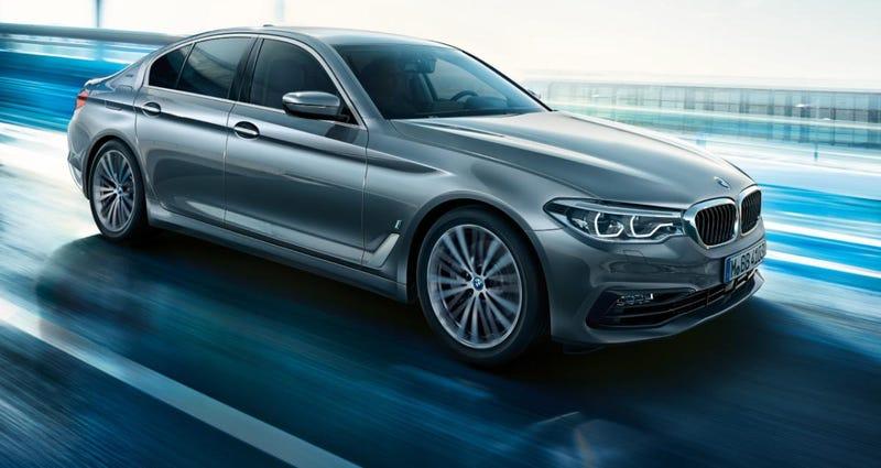 Un BMW Serie 5. Imagen: BMW