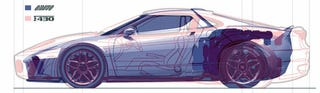 Illustration for article titled New Stratos Shrinks Onto The Ferrari F430