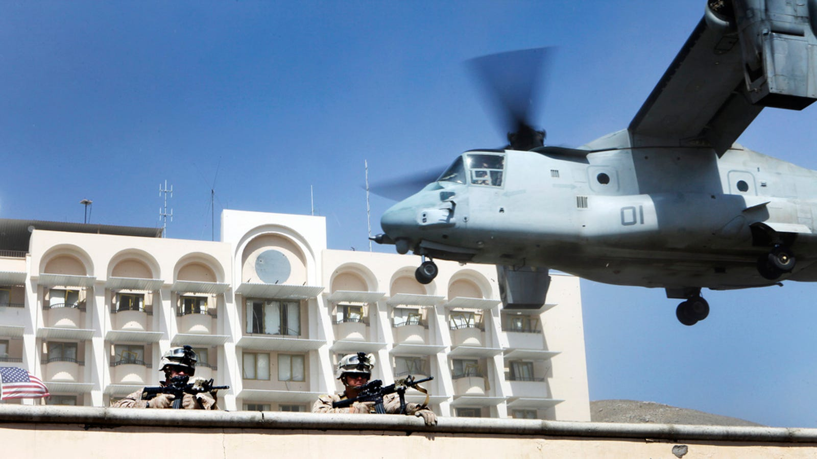 How The Marines Could Evacuate The U S  Embassy In Libya