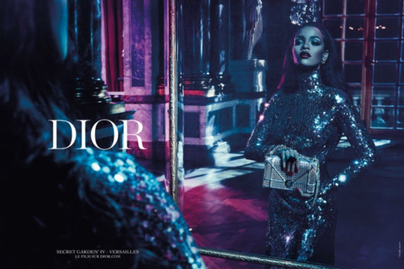 Illustration for article titled Rihanna's Dior Ad Will Feature a New Song, 'Only If For a Night'!