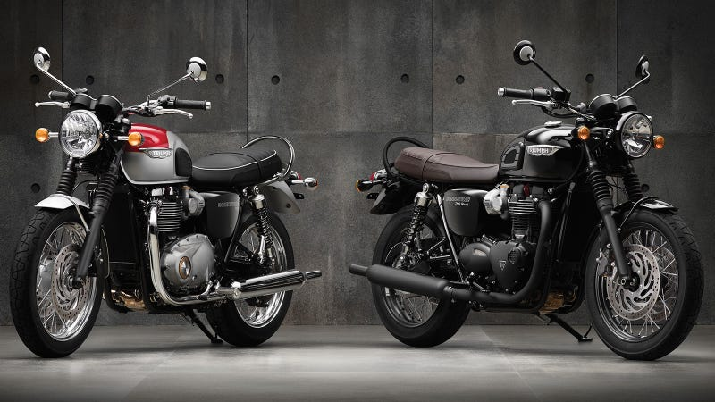 2016 Triumph Bonneville T120 And T120 Black An Old School Icon Gets