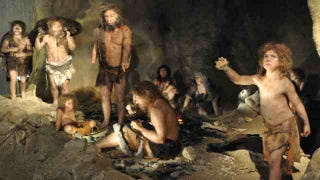 Illustration for article titled There were just too many humans for Neanderthals to survive