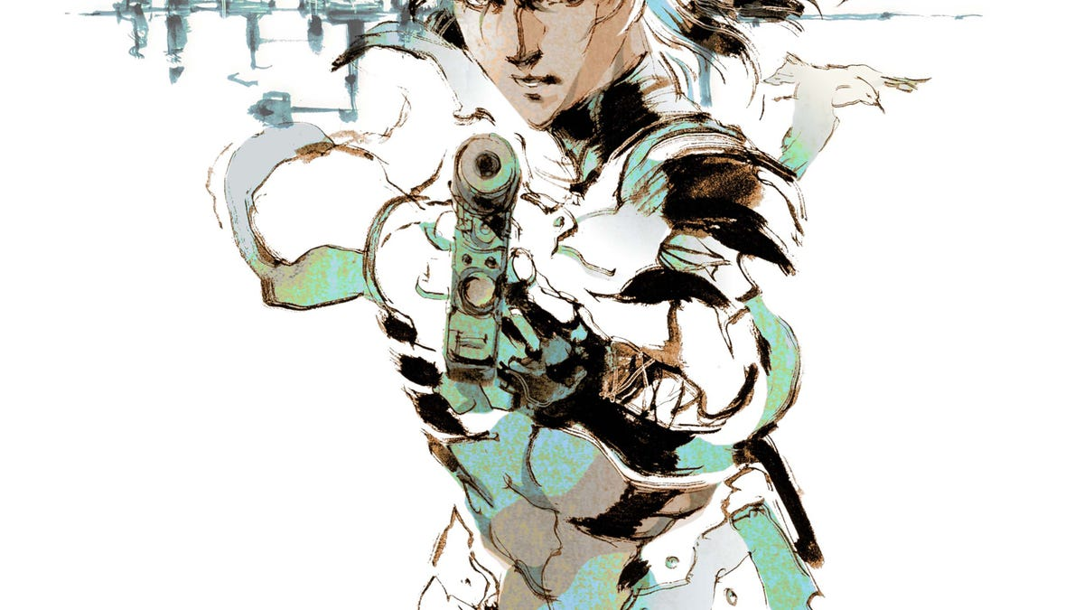 metal gear ain t metal gear without yoji shinkawa s iconic art