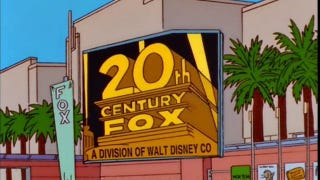 Illustration for article titled Despite Disney merger, The Simpsons is staying put on Fox through season 32