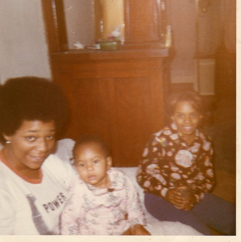 My mom, me (the cutest baby you've ever seen) and my cousin Pam (courtesy of Monique Judge)