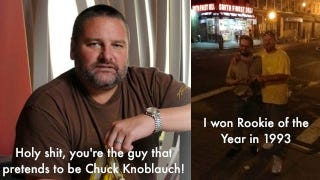 Illustration for article titled My Night With The Fake Chuck Knoblauch