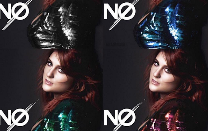 Illustration for article titled Meghan Trainor's New Song 'No' Boldly Takes on the Experience of Listening to Meghan Trainor