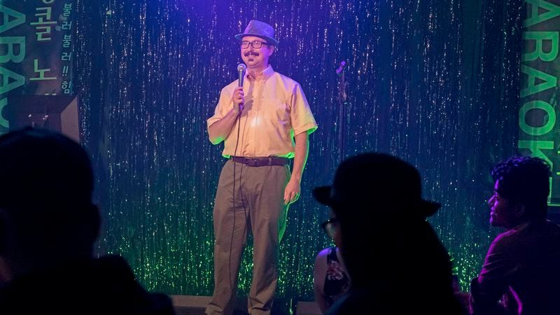 John Hodgman as Bernie (FX)