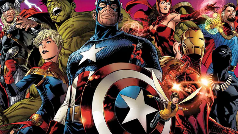 Image: Marvel. Legacy Banner Art by Joe Quesada.