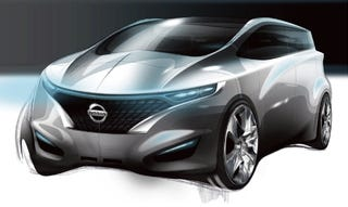 Illustration for article titled Nissan Forum Concept to Debut in Detroit
