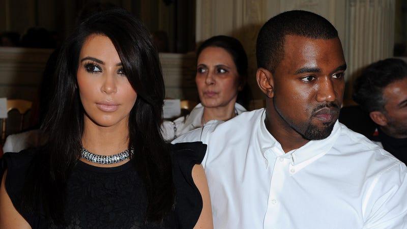 Illustration for article titled Tense Divorce Is Causing Kim Kardashian's Fetus to Stress-Binge on Placenta, Cookie Dough