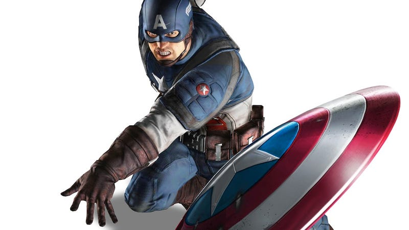 Illustration for article titled Raise Your Expectations For The Captain America Video Game