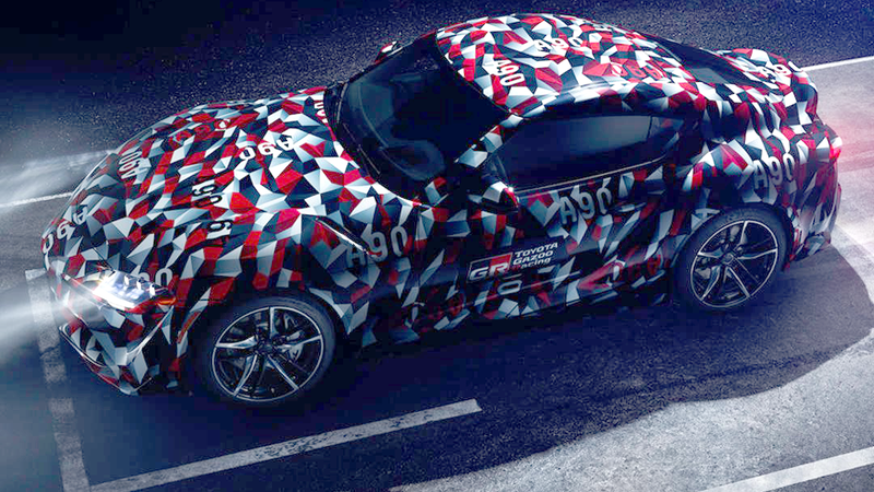 Illustration for article titled We're Finally Going To See The 2019 Toyota Supra At The Goodwood Festival Of Speed Next Week