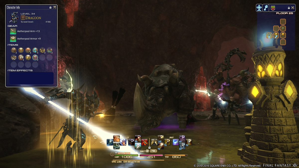 Final Fantasy XIV's New 'Deep Dungeon' Will Be Different Than