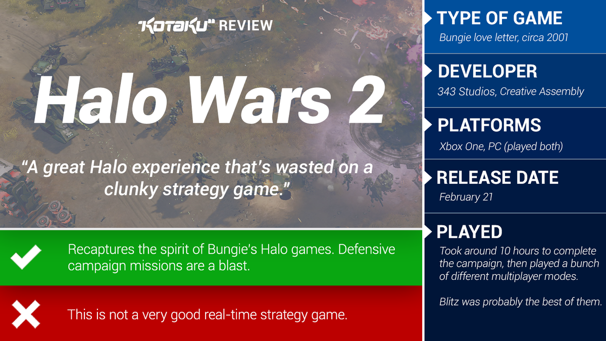 Halo Wars 2: The Kotaku Review