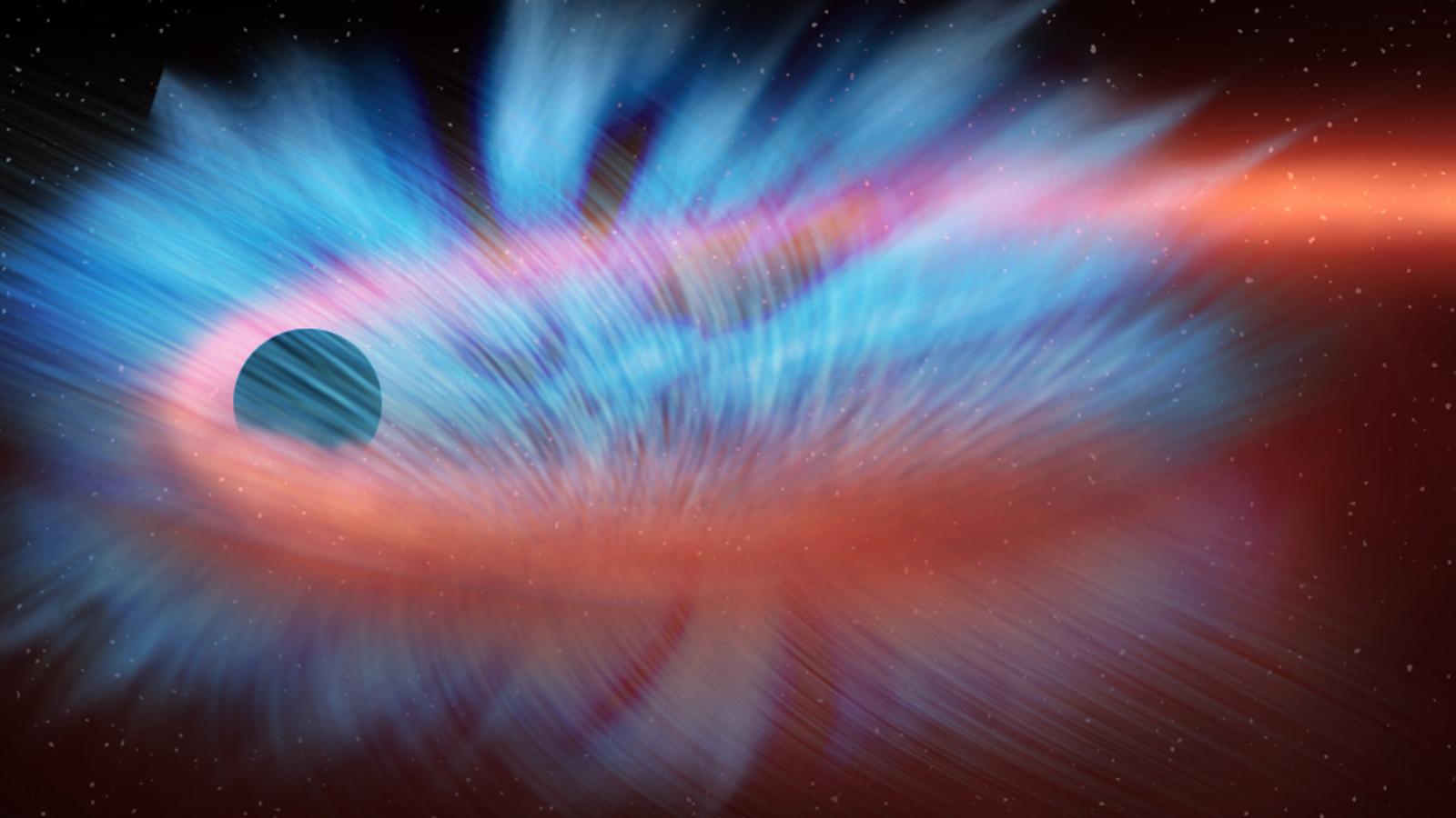 This Is What it Looks Like When a Black Hole Shreds a Star