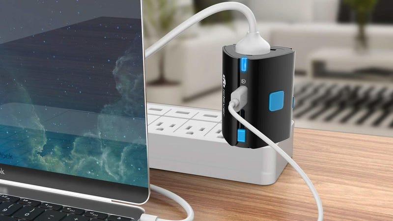 iClever International Plug Adapter   $10   Amazon   Promo code TRAVEL2018