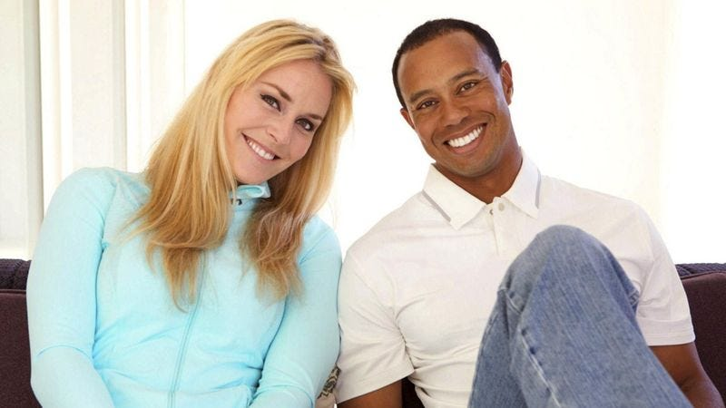 Illustration for article titled Tiger Woods, Lindsey Vonn Announce They're Just Ordinary Couple Into Depraved Sexual Acts