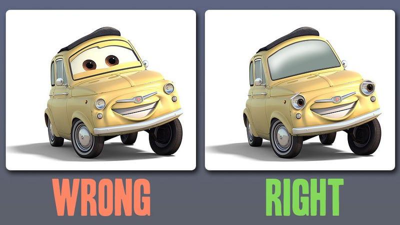 how pixar screwed up cartoon cars for a generation of kids. Black Bedroom Furniture Sets. Home Design Ideas