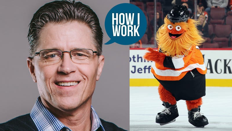 Illustration for article titled I'm David Raymond, Creator of Gritty, and This Is How I Work