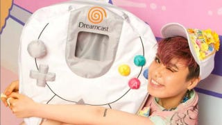 Illustration for article titled Sega Is Selling a New Dreamcast Controller. It's a Cute Backpack.