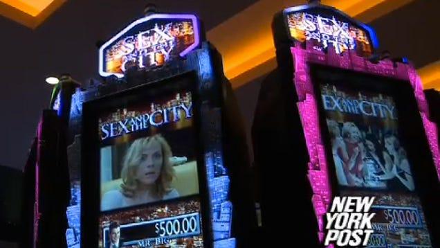 sex and the city slot machine big win