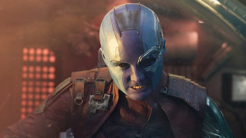 Image: Nebula in Guardians of the Galaxy Vol. 2 (Marvel/Disney)