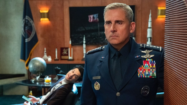 Netflix s Goofy Military Satire Space Force Is Getting a Second Season