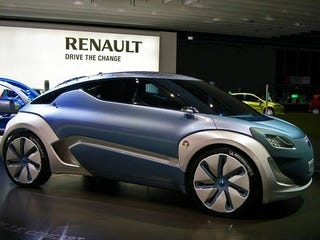 Illustration for article titled Renault Zoe ZE Concept, So French It Was Developed With L'Oreal