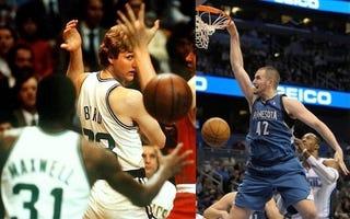 Illustration for article titled White Basketball Player Compared To White Basketball Player